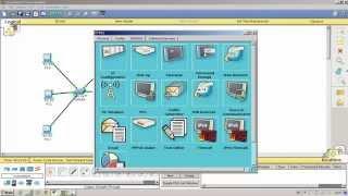 Пример урока CCNA R&S - Базовые настройки Vlan и DHCP сервера