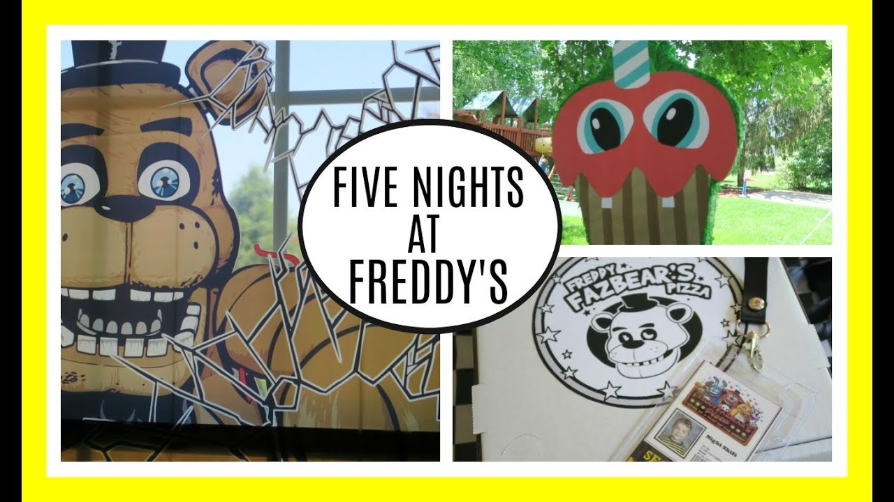 Ideas Five Nights At Freddy Party - Five nights at freddy s birthday party ideas fnaf