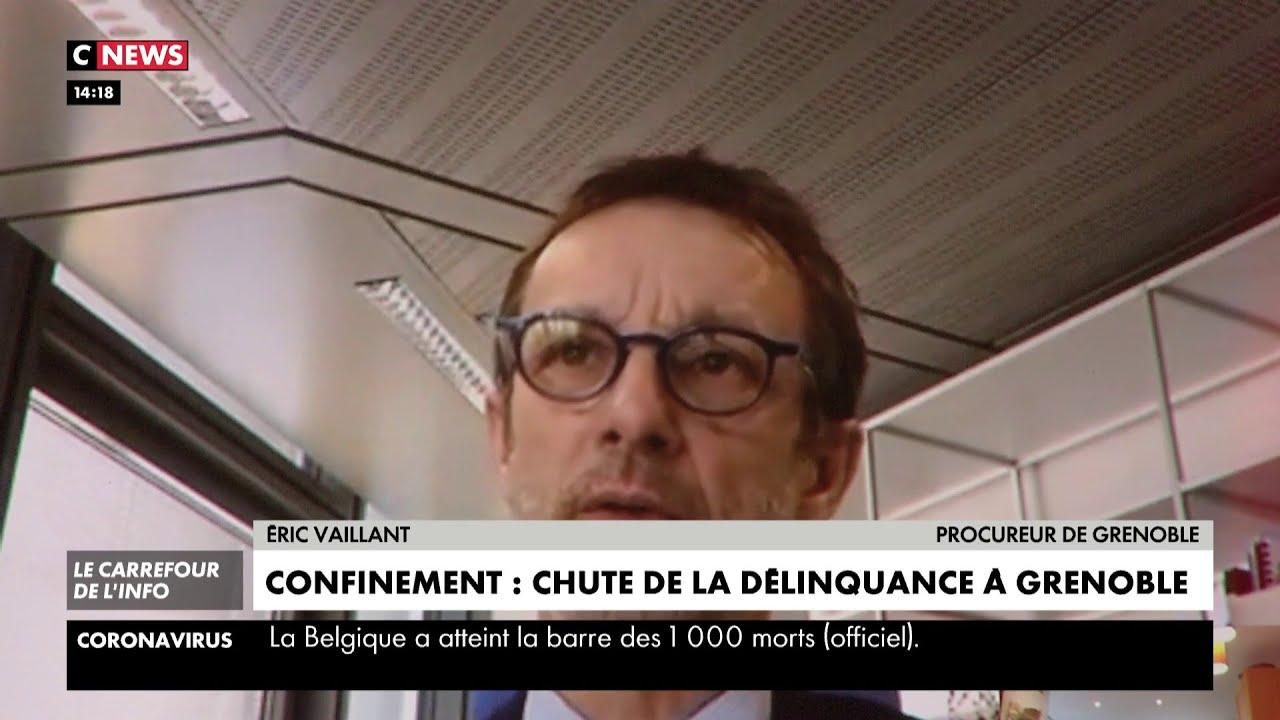 Confinement : chute de la délinquance à Grenoble
