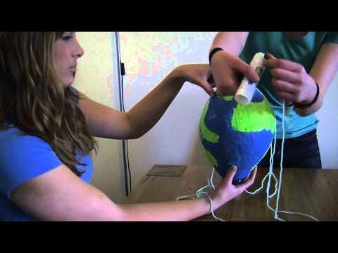 How to: make a paper mache hot air balloon