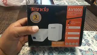Tenda  AV1000 Ethernet Powerline Review/Test