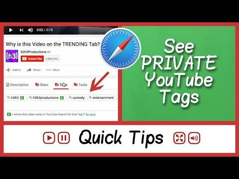 See YouTube Tags 2016 on Safari - TubeBuddy - FAQ Tube