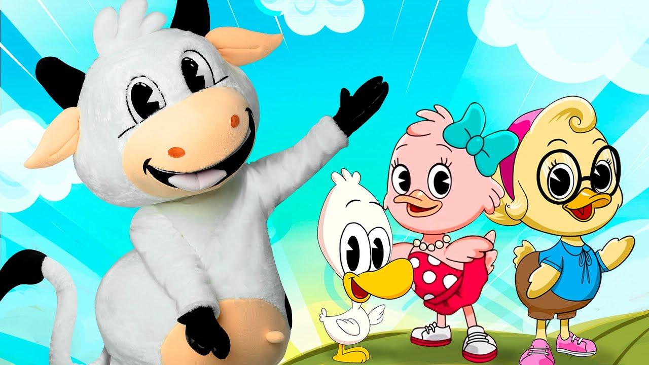 Seis Patitos, La Vaca Lola - Canciones infantiles.