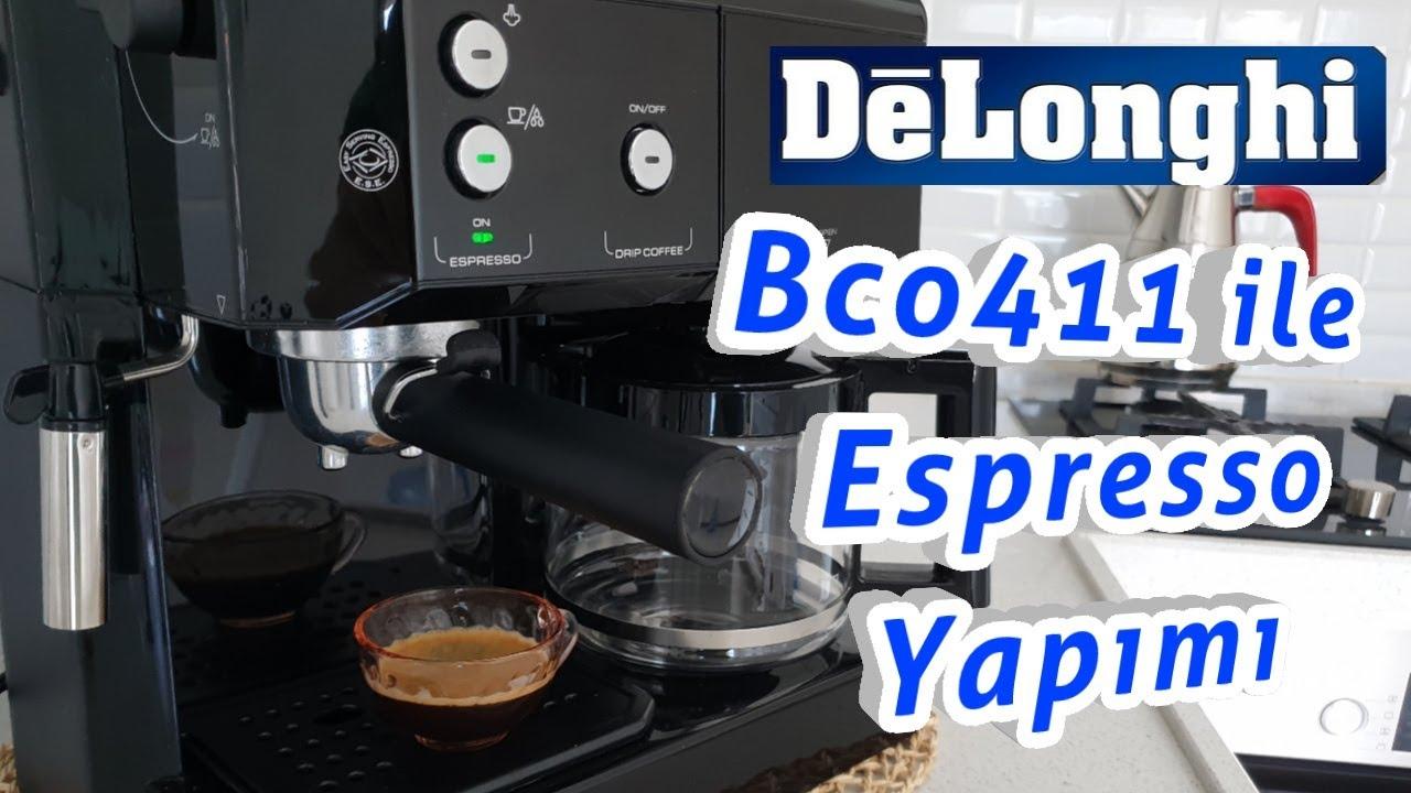 Delonhgi BCO 411 Kahve Makinesi ile Espresso Nasıl Yapılır ?