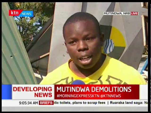 Bururu residents blame Nairobi Governor Mike Sonko for ongoing demolition in the area