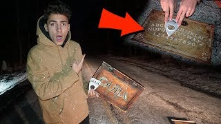 BREAKING ALL THE RULES OF THE OUIJA BOARD AT CLINTON ROAD!