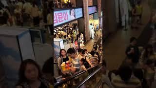 метро в Сеуле!!! Просто прогулка по Сеулу!!!станция Йонсан.Видео со сторисов)
