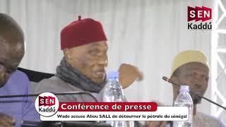 Wade accuse Aliou SALL de détourner le pétrole du Sénégal