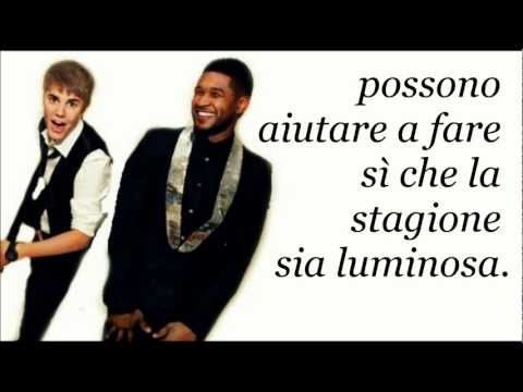 Justin Bieber Ft. Usher - The Christmas Song (TRADUZIONE ITALIANA)