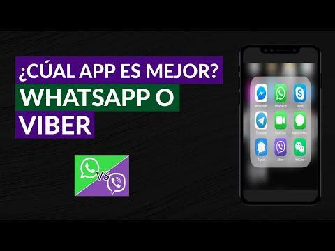 Qué Aplicación es Mejor, Viber o WhatsApp