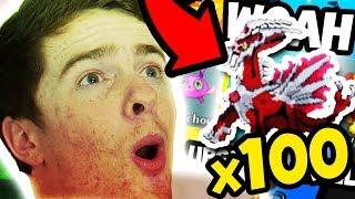 Opening 100 PokeRolls iฑ Project Pokemon! *INSANE*