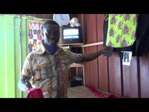 Kubby, the tailor from Ghana