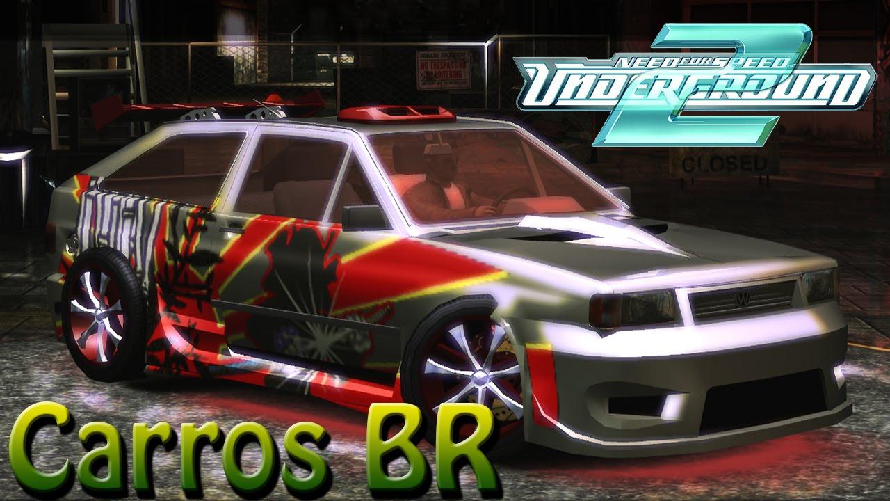 carros brasileiros tunados para need for speed underground 2