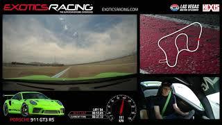 Porsche GT3 991 RS @ Exotics Racing Las Vegas - 53:06 Lap