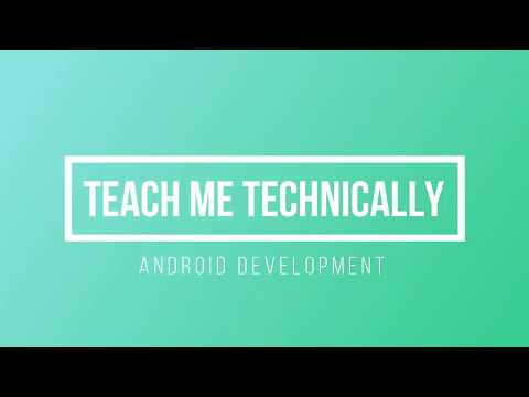 Android App Development Tutorials -01- Creating First Android Application thumbnail