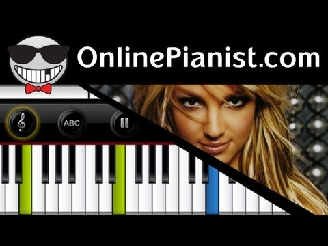 Britney Spears - Everytime - Piano Tutorial & Sheets