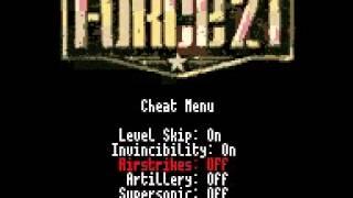 Cheat Menu - Force 21 (U) (GBC)