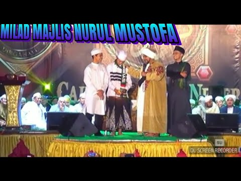 MONAS, Ucapan Selamat Ultah untuk Majlis Nurul Musthofa Jakarta.