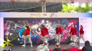 港九潮州公會中學現場跳《Jump Around 》舞!