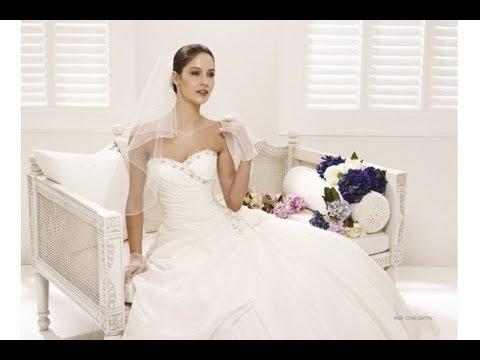 Hochzeitskleider und Brautkleider 2013 bei Alexa Brautmoden - YouTube