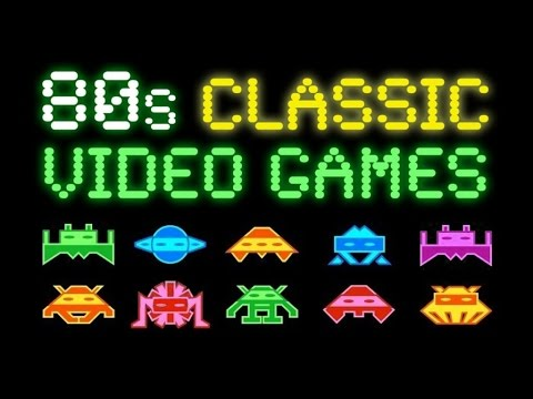 80s Classic Video Games Music - ✭ Ultimate Early 80s Arcade Tribute | pt. 1