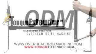 installing threaded rod assemblies using the odm torqueextender pole tools