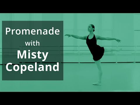 'Promenade in Arabesque' with Nancy Bielski. Featuring Misty Copeland