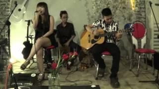 vì em đã quá yêu anh- Mỹ Tâm cover by Nu nu guitarist: Nguyễn Tjm, Cajon: Quân