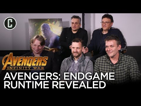Avengers Endgame Runtime Revealed