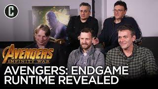 Avengers Endgame Runtime Revealed