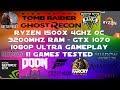 Ryzen 1500X + GTX 1070 - 1080p Ultra Gaming Benchmarks - 11 Games Tested