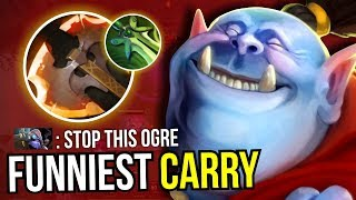 CARRY OGRE MAGI - Butterfly + Battlefury Ogre Magi NEW META 7.07 Dota 2 | Upside Down 33
