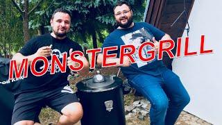 MONSTERGRILL TERRA 5000 Vorstellung Test  ---  Klaus grillt