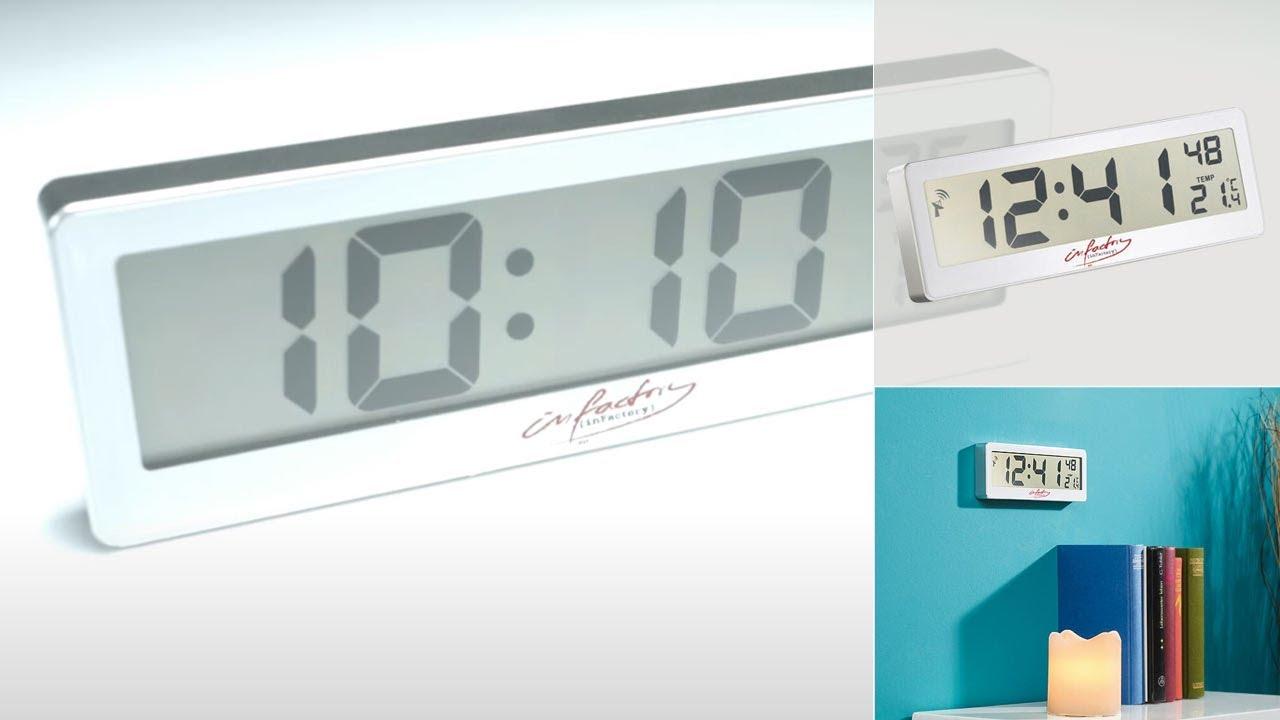 nc7422 horloge radio pilot e compacte avec cran lcd youtube. Black Bedroom Furniture Sets. Home Design Ideas