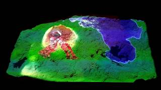 Build volcanoes in this Unity powered spatially augmented sandbox!