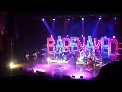 Barenaked Ladies Tribute to Gord Downie - Rebecca Cohn Auditorium Halifax 18/10/2017