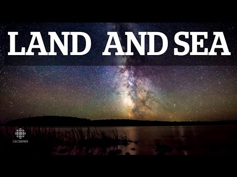 Land and Sea: The Night Sky