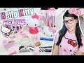 FULL-FACE using only HELLO KITTY MAKEUP! (Review and Tutorial) ❤