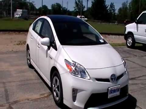 2012 TOYOTA PRIUS 4 SOLAR NAVIGATION HEATED LEATHER WWW NHCA
