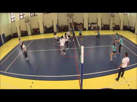 Volleyball vs Catchball