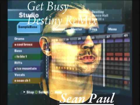 Sean Paul Destiny (Get Busy ReMix) [MTV Music Generator 3]