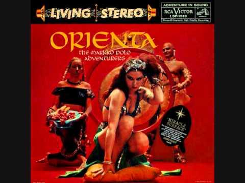 The Markko Polo Adventurers - Orienta (1959)  Full vinyl LP