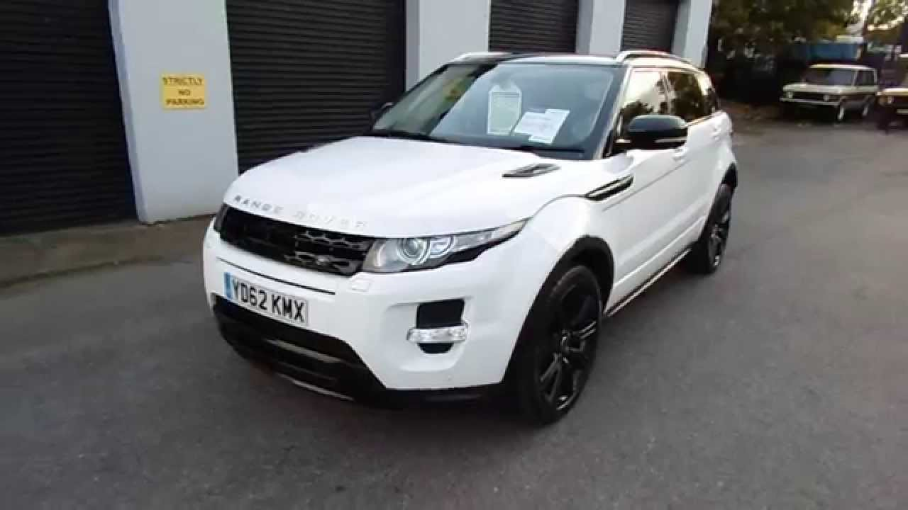 Evoque Dynamic Lux White With Black Design Styling Youtube