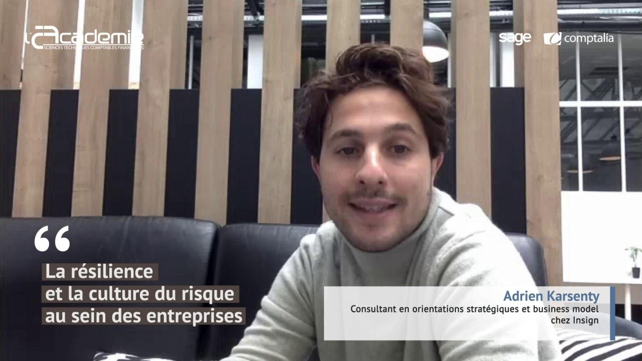 Les Entretiens de l'Académie : Adrien Karsenty