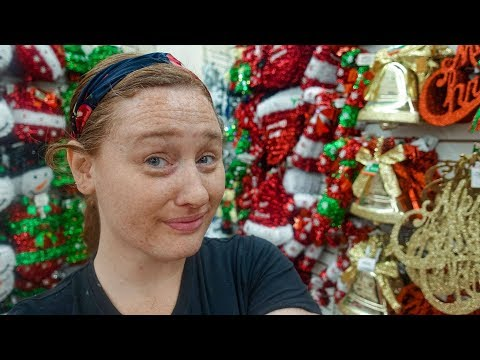 DOLLAR TREE SHOP WITH ME For CHRISTMAS 2019