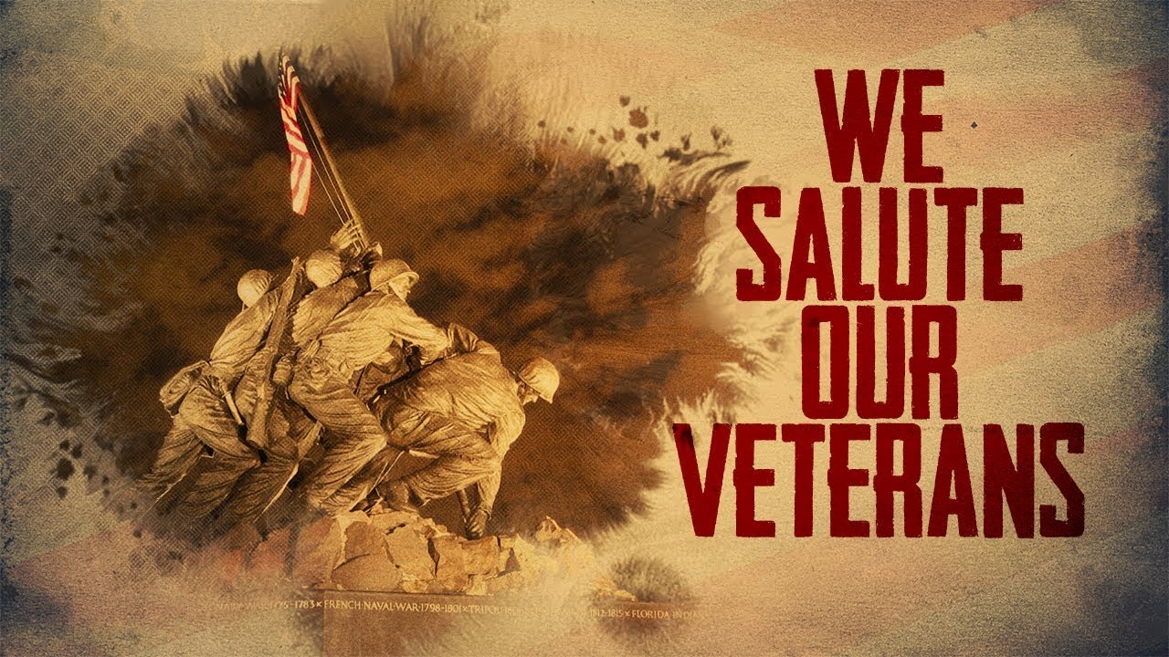 Veteran Salute We Salute Our V...