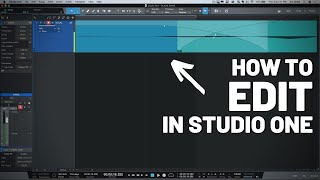 How to Edit in #StudioOne