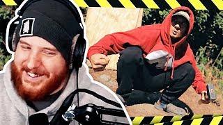 Unge REAGIERT auf Julien Bam am RÖDELN | #ungeklickt