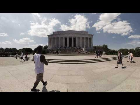 Lincoln Memorial & Reflecting Pool | Washington, DC 360 Video