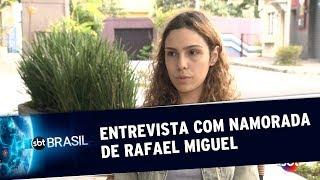 Exclusivo: Entrevista com a namorada do ator Rafael Miguel | SBT Brasil (12/06/19)